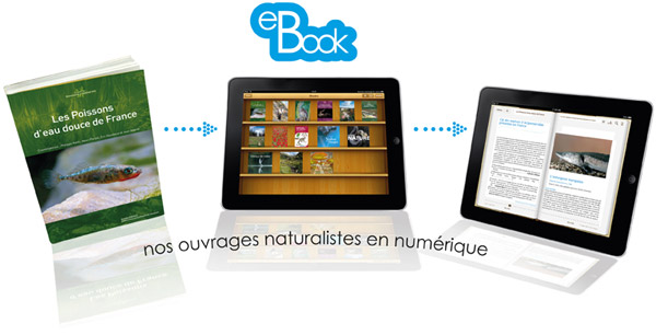 Nos ouvrages naturalistes au format ebook